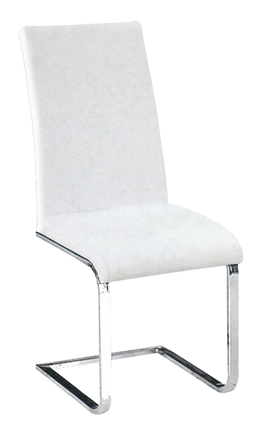 Silla Moderna Polipiel Blanca « Salón/Comedor Moderno Online ...