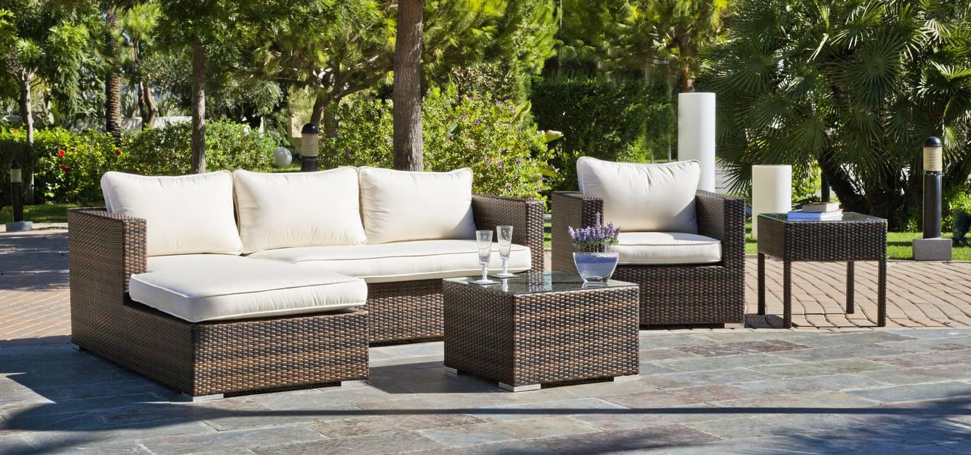 Muebles Online Terraza Jardín Ratán Sofás Online
