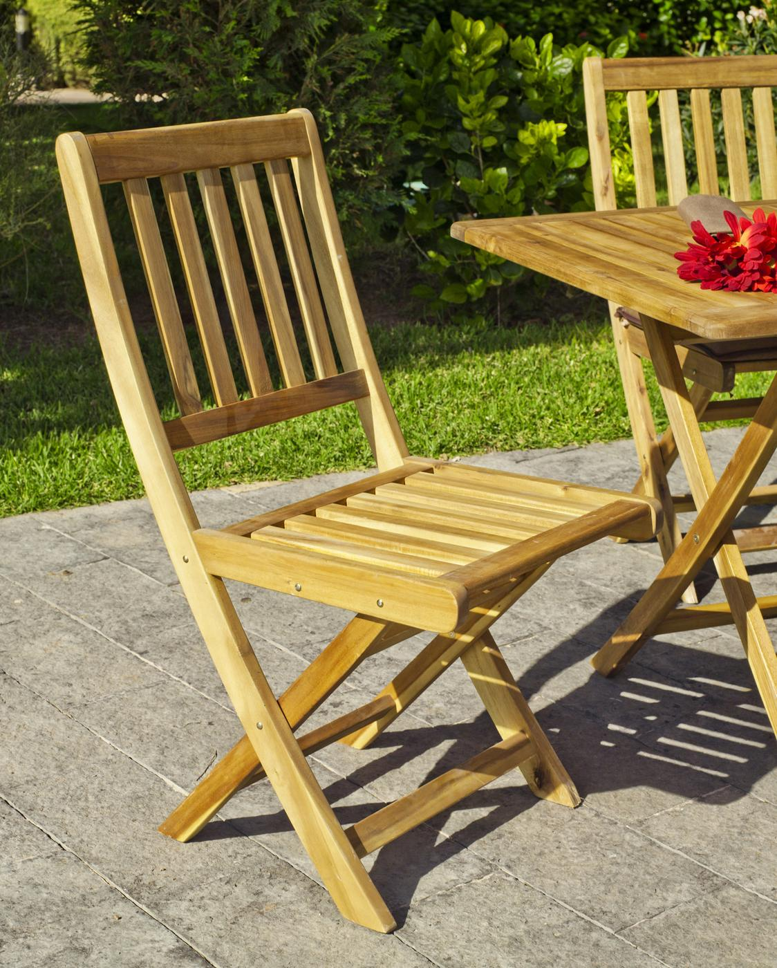 Muebles online terraza jard n madera online silla - Sillas madera jardin ...