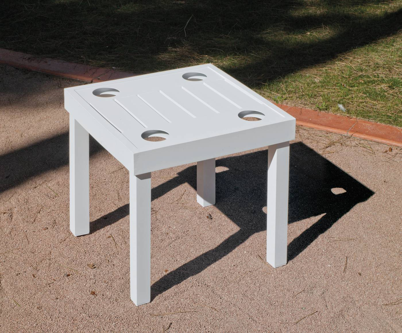 Muebles Online Terraza Jardin Aluminio Lujo Online Mesa Auxiliar