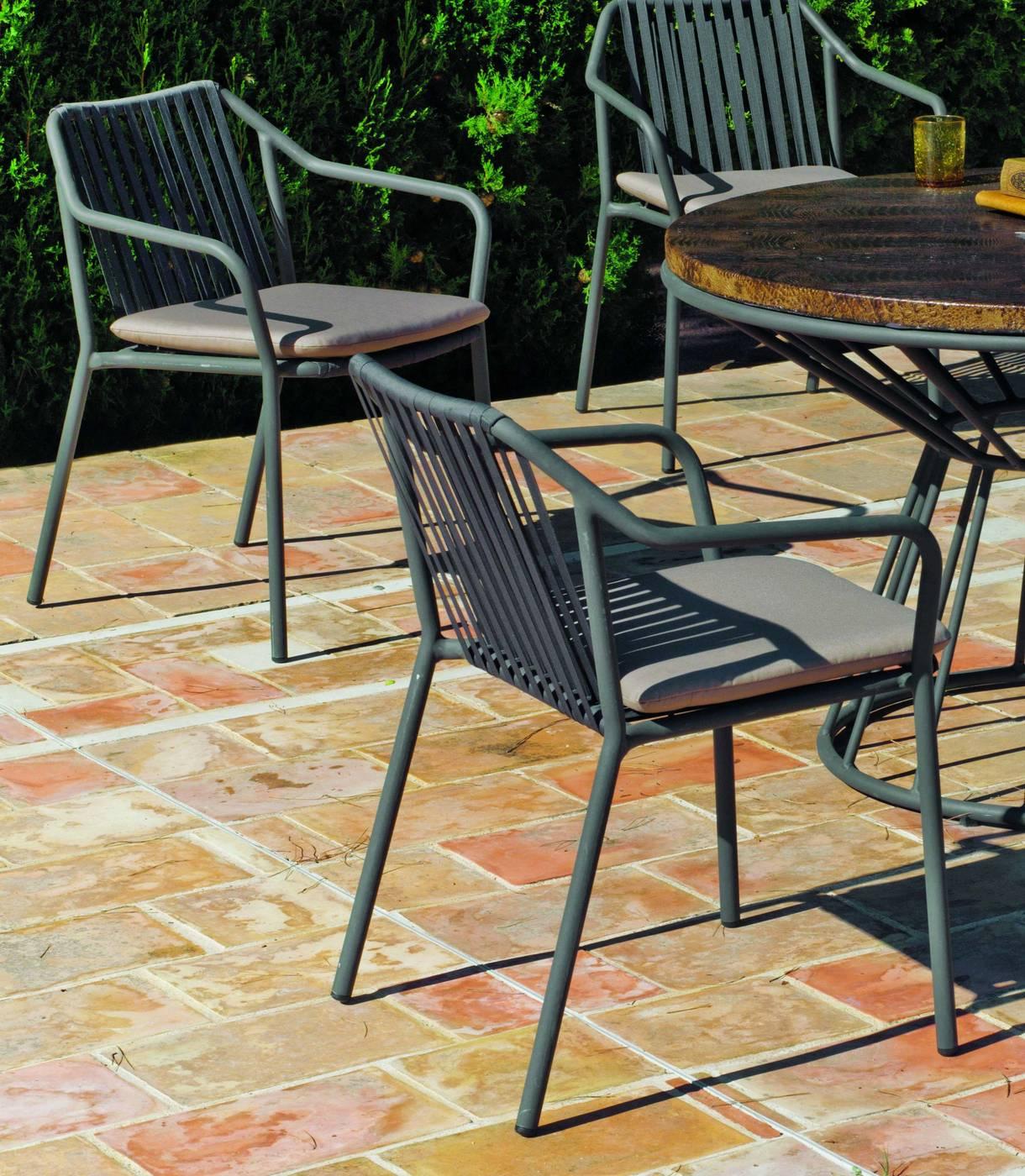 Sillón Aluminio Lux Michigan-20 de Hevea « Terraza/Jardín ...