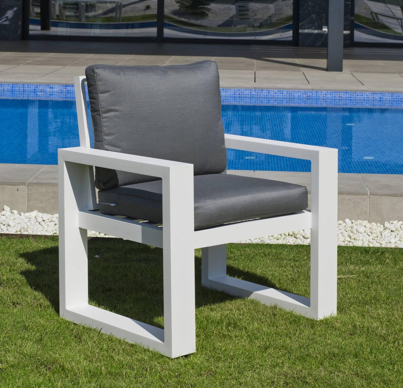Sillón Aluminio Coloseo-30 de Hevea « Terraza/Jardín ...