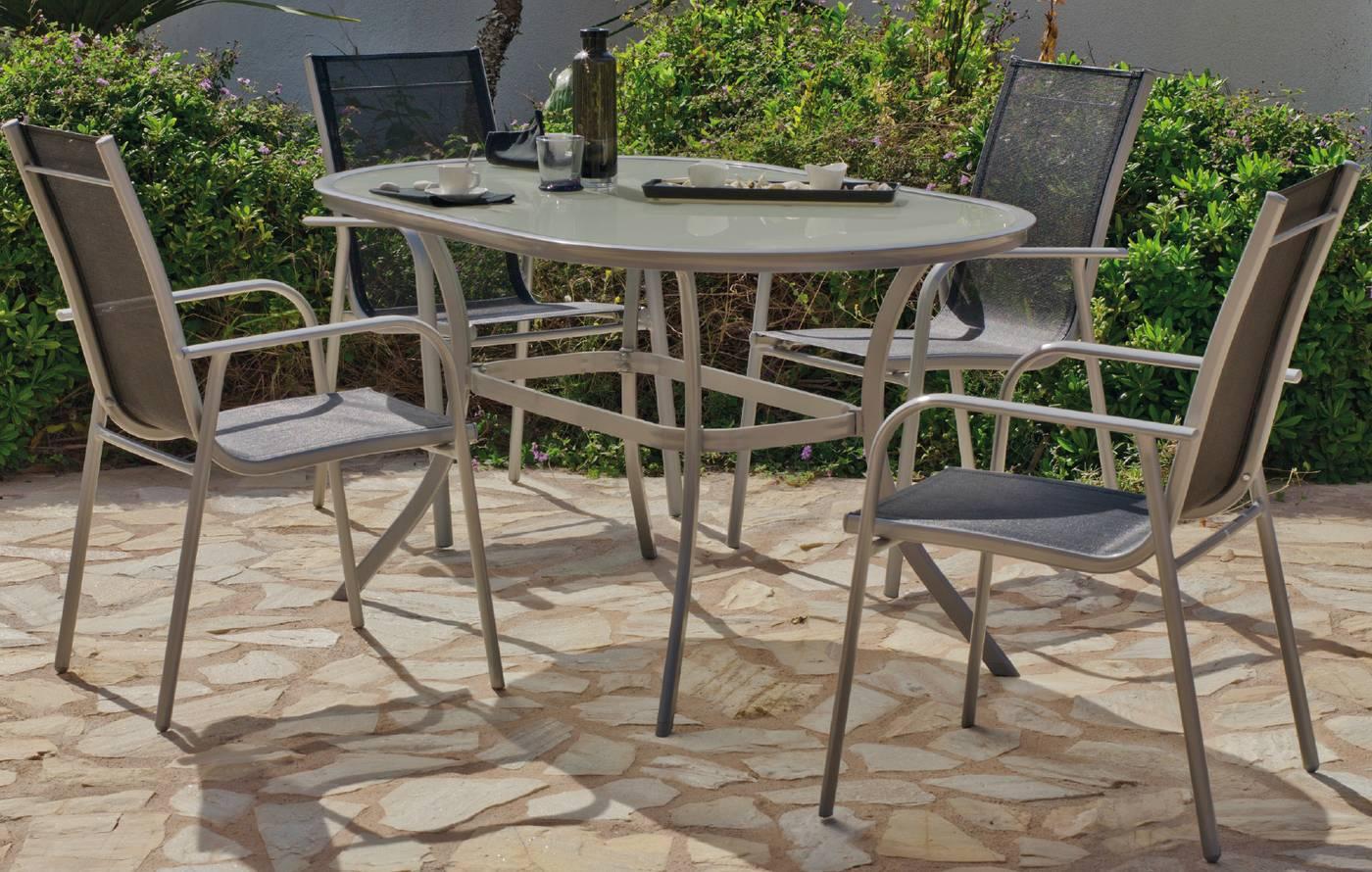 Muebles De Terraza Y Jardín De Aluminio Online Muebles