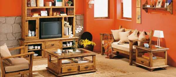 decoracion de interiores salones rusticos:Muebles Online y en Cartagena/Murcia – Muebles Peymar